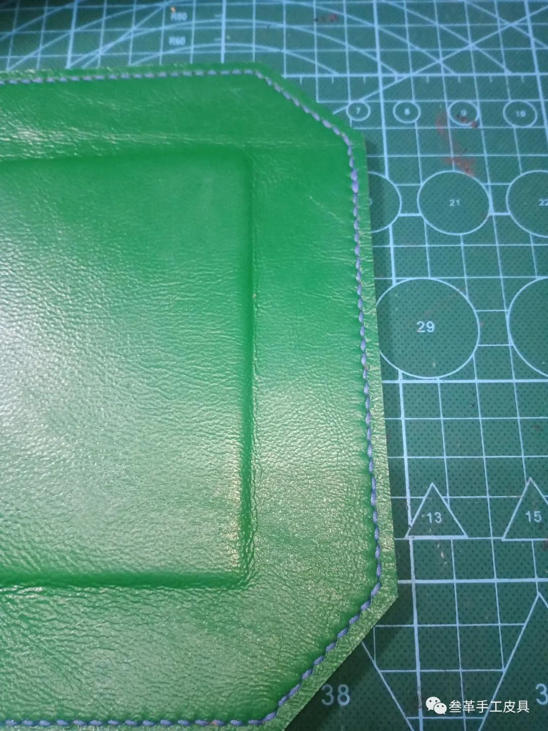 图纸|爱马仕托盘——手工皮具制作教程-1