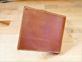 零钱短夹包(图纸)手工皮具制作教程-85
