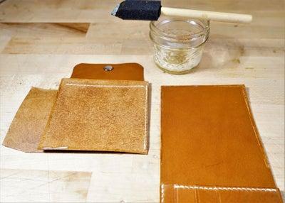 零钱短夹包(图纸)手工皮具制作教程-60