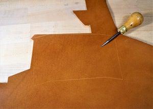零钱短夹包(图纸)手工皮具制作教程-7