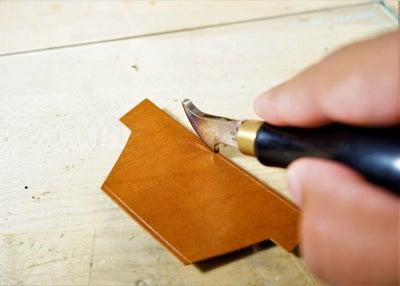 零钱短夹包(图纸)手工皮具制作教程-16