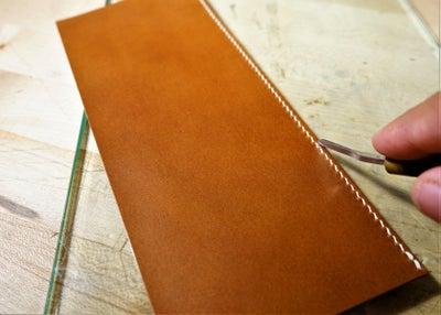零钱短夹包(图纸)手工皮具制作教程-28