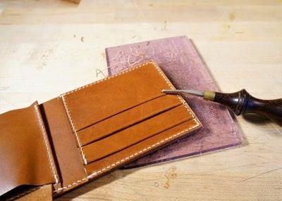 零钱短夹包(图纸)手工皮具制作教程-68