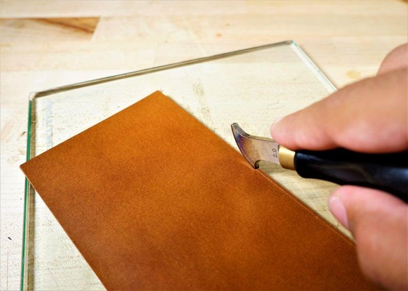 零钱短夹包(图纸)手工皮具制作教程-20