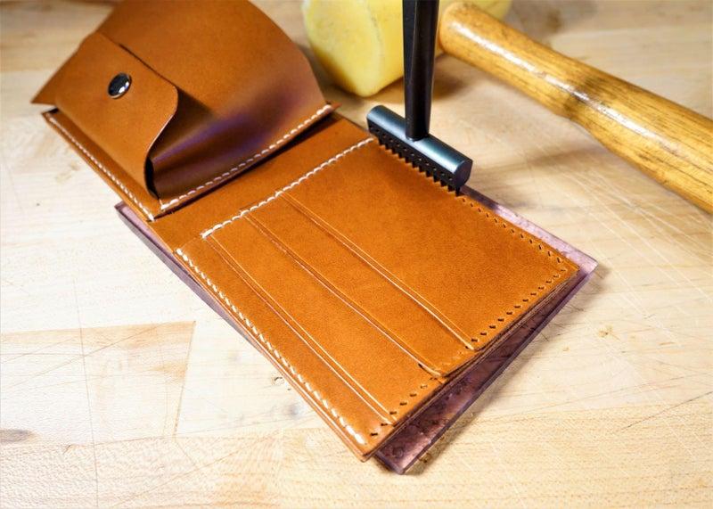 零钱短夹包(图纸)手工皮具制作教程-66