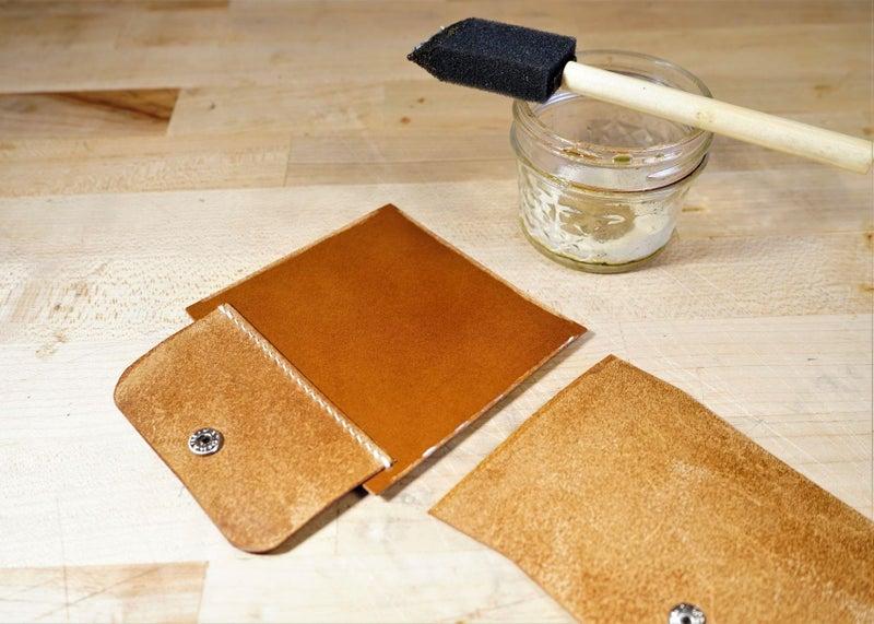 零钱短夹包(图纸)手工皮具制作教程-57