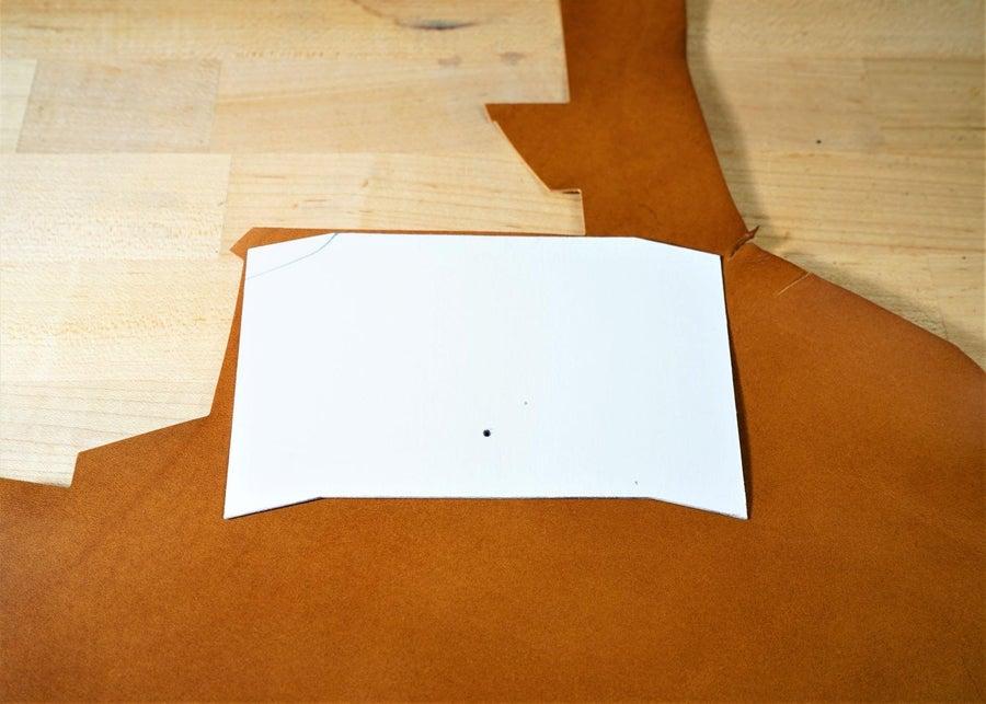 零钱短夹包(图纸)手工皮具制作教程-6