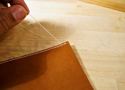 零钱短夹包(图纸)手工皮具制作教程-24