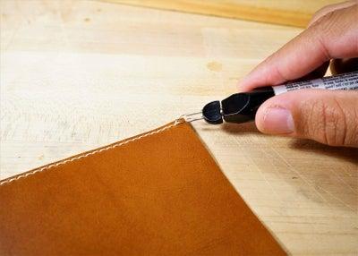 零钱短夹包(图纸)手工皮具制作教程-25