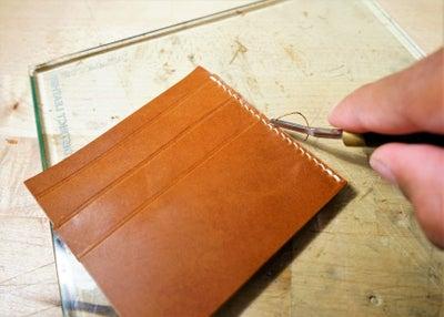 零钱短夹包(图纸)手工皮具制作教程-43