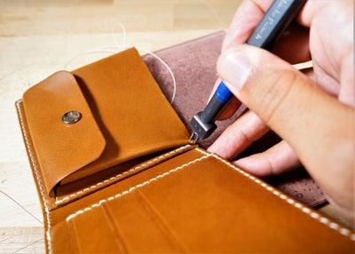 零钱短夹包(图纸)手工皮具制作教程-80