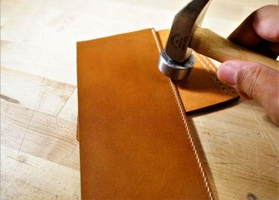 零钱短夹包(图纸)手工皮具制作教程-26