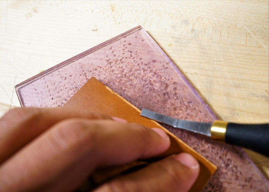 零钱短夹包(图纸)手工皮具制作教程-37