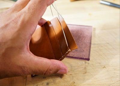 零钱短夹包(图纸)手工皮具制作教程-41