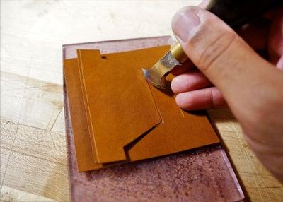 零钱短夹包(图纸)手工皮具制作教程-34