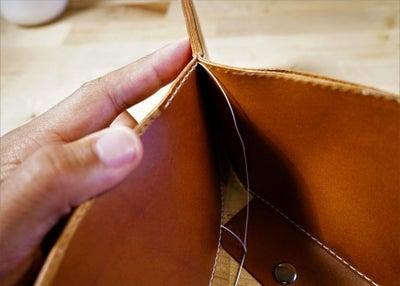 零钱短夹包(图纸)手工皮具制作教程-74