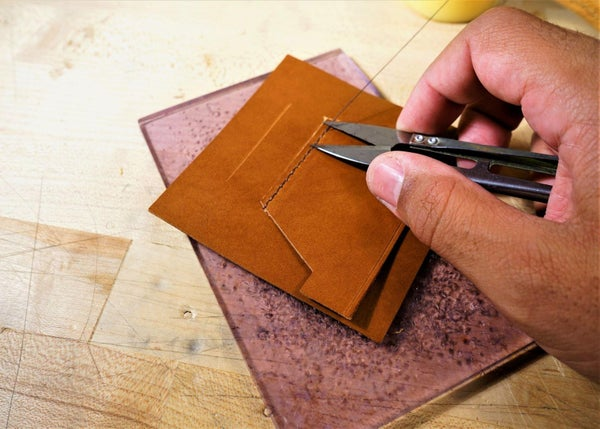 零钱短夹包(图纸)手工皮具制作教程-36