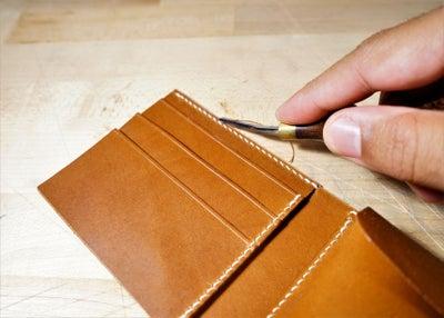 零钱短夹包(图纸)手工皮具制作教程-65